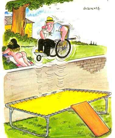 Wheelchair Comic